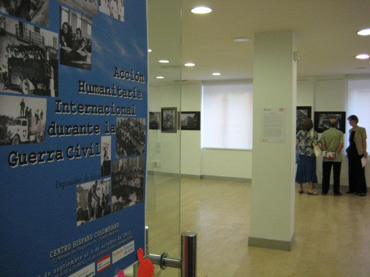 Expo of SCI Madrid in the Centro Hispano-Colombiano